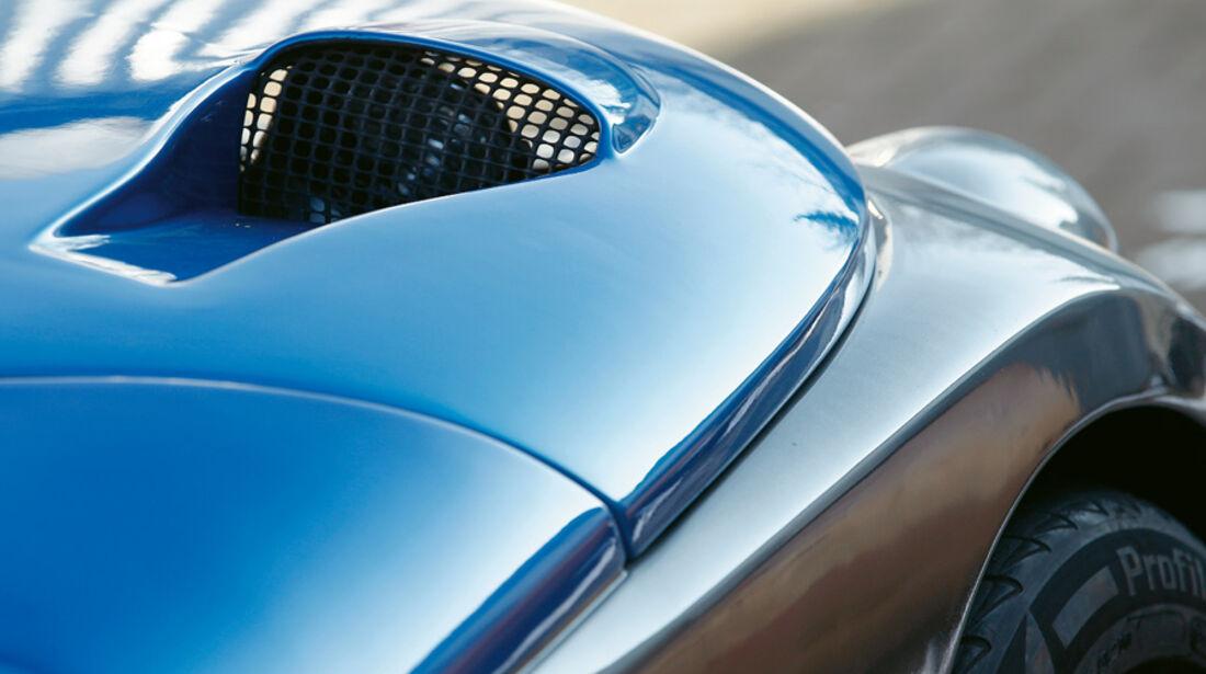 Renault Sport Spider, Luftöffnung, Luftschlitz