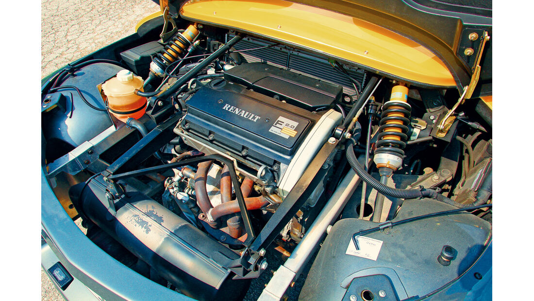 Renault Sport Spider, Motor