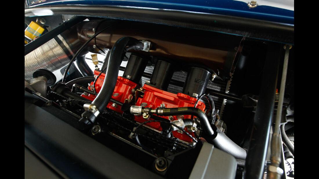 Renault Sport Spider, Motorraum