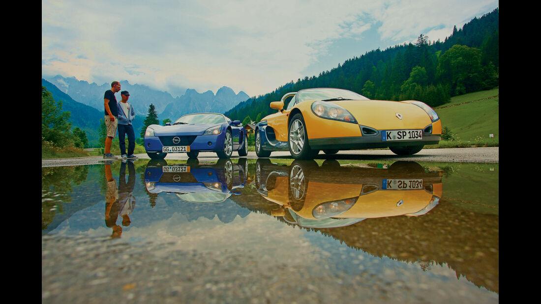 Renault Sport Spider, Rundinstrumente
