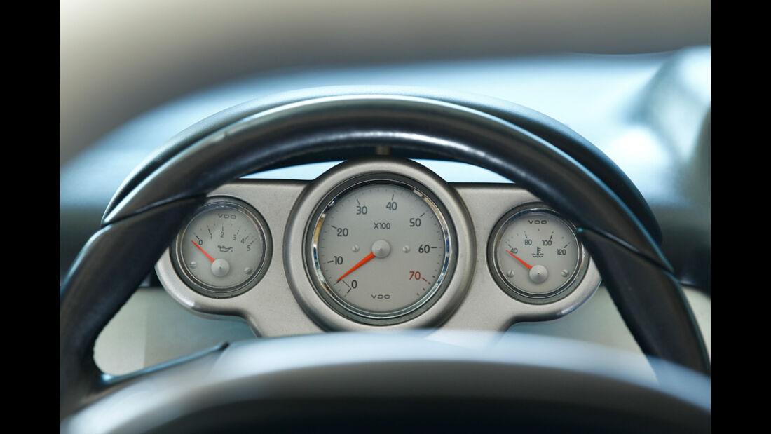 Renault Sport Spider, Rundinstrumente, Tacho