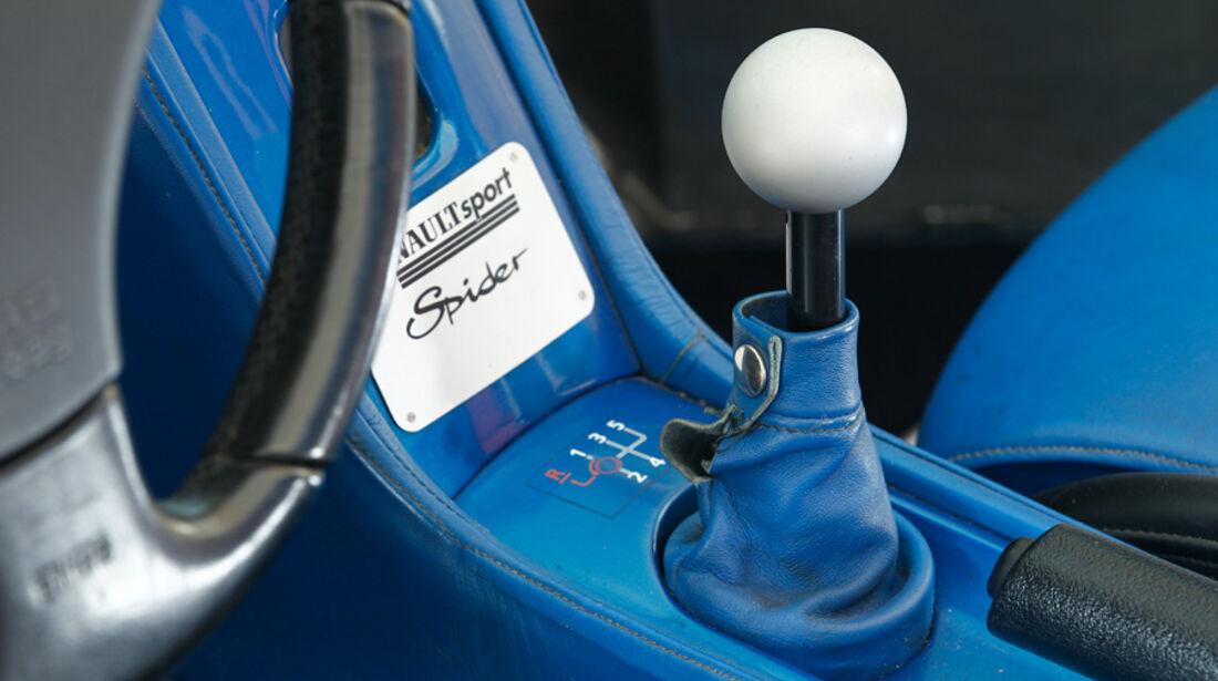 Renault Sport Spider, Schalthebel, Schaltknauf