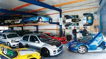 Renault Sport Spider, Werkstatt