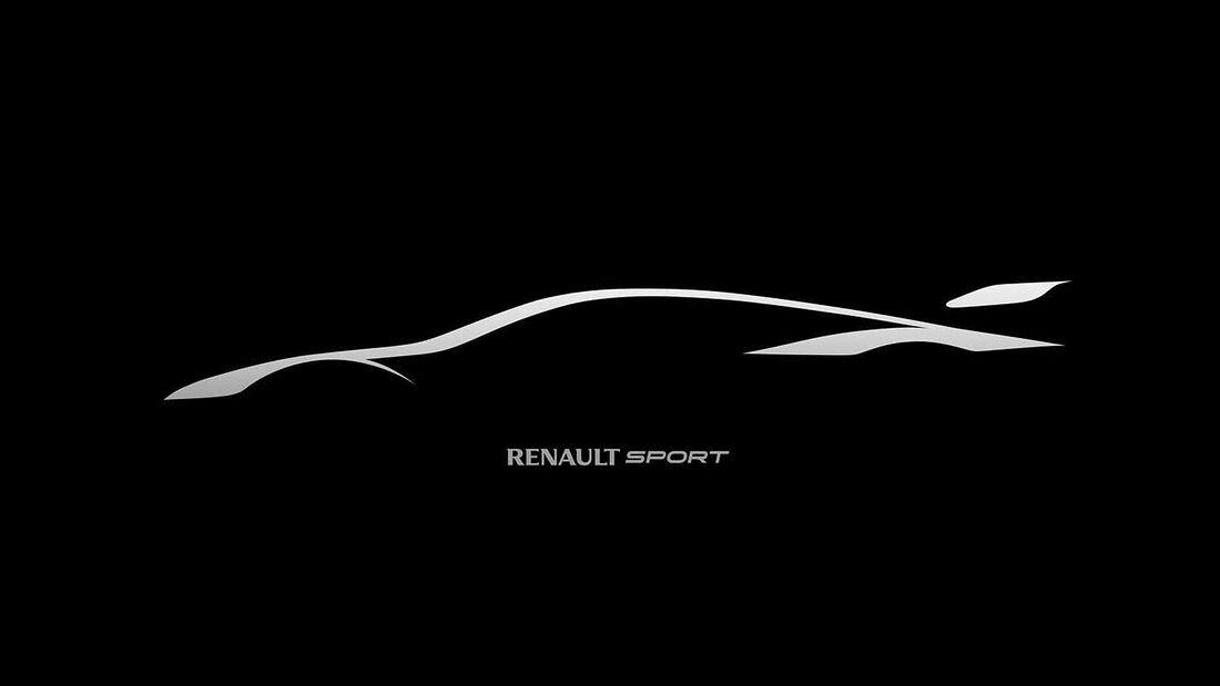 Renault Sport Trophy Rennwagen Teaser