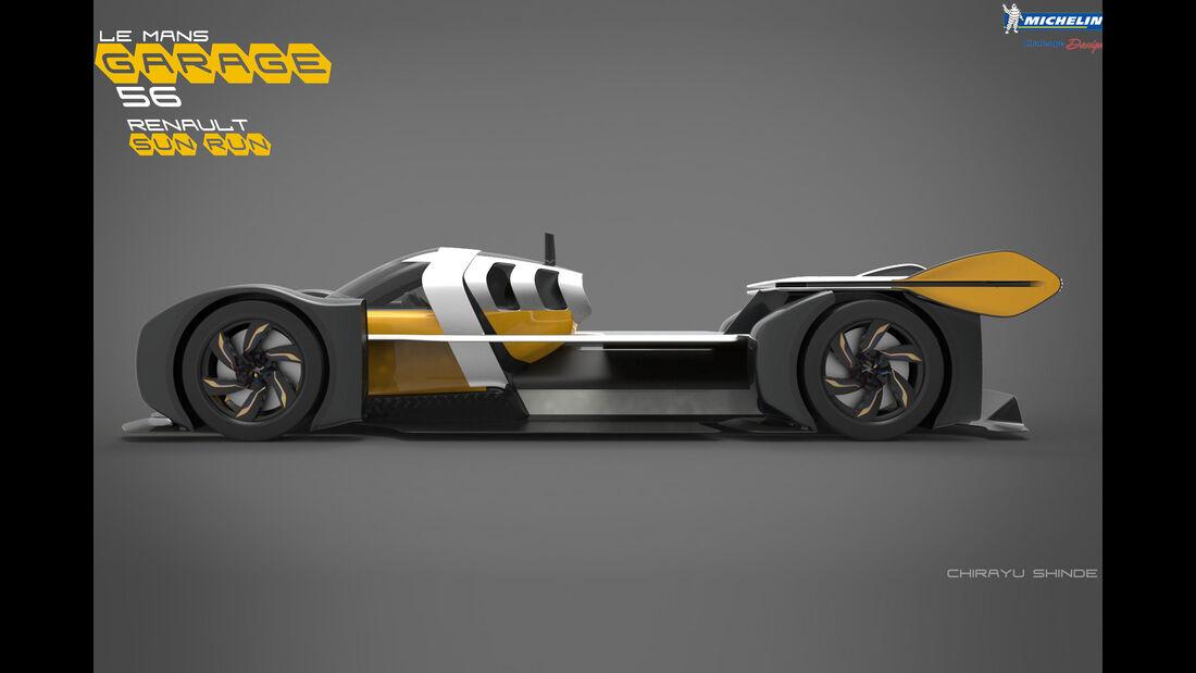 Renault Sun Run - Le Mans 2030 - Michelin Challenge Design - Motorsport