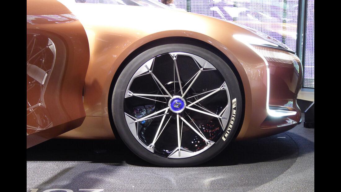 Renault Symbioz - Felgen - IAA 2017