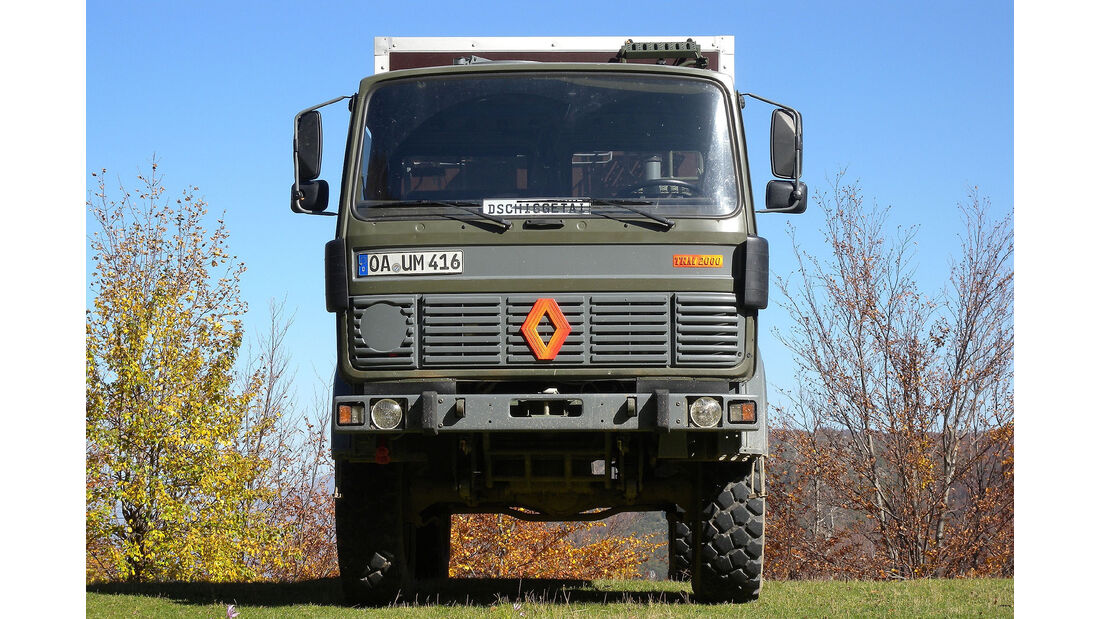 Renault TRM 200 Rustikab Expeditionsmobil