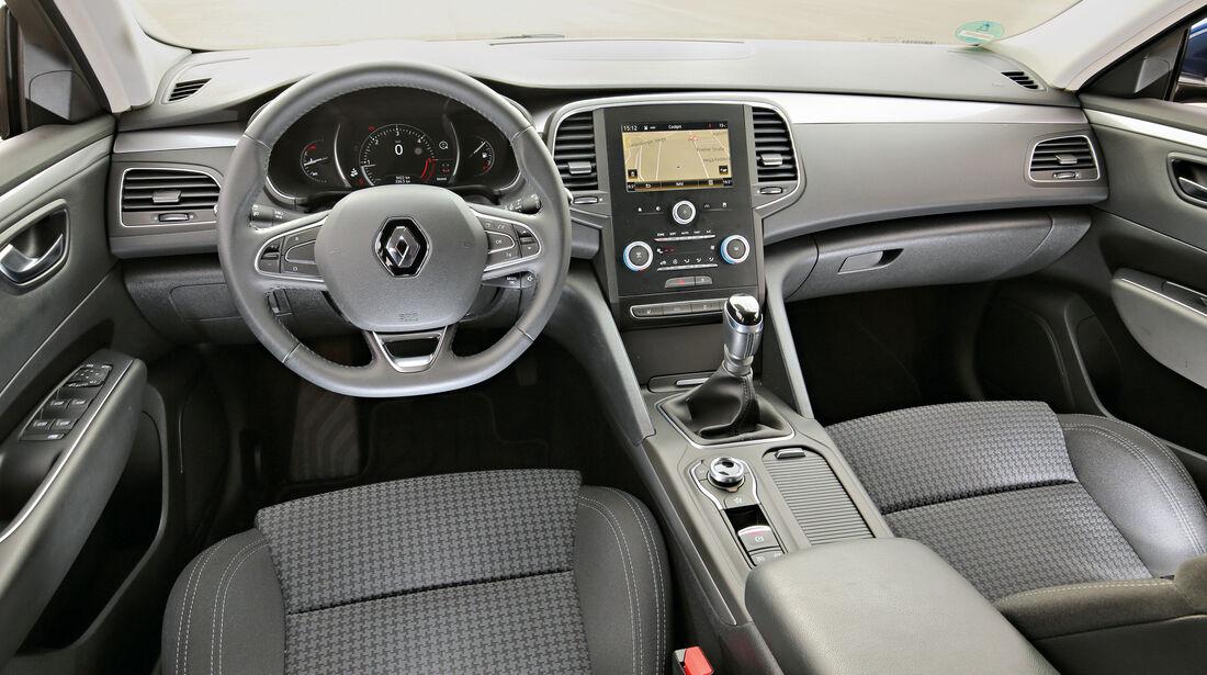 Renault Talisman GT dCi 130, Cockpit