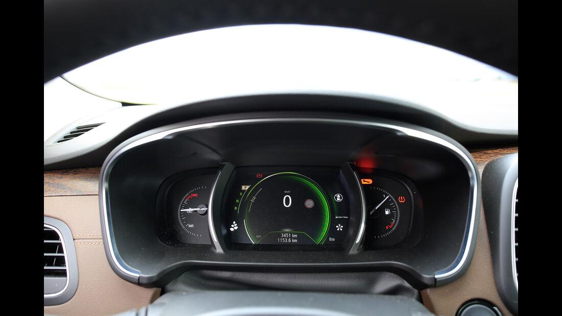 Renault Talisman dCi 160, Anzeigeinstrumente