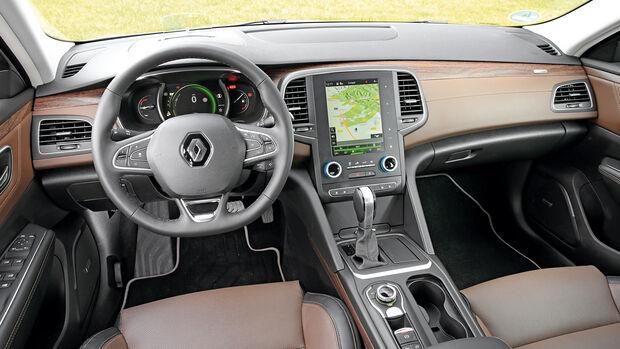 Renault Talisman dCi 160, Cockpit