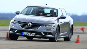 Renault Talisman dCi 160, Frontansicht, Slalom