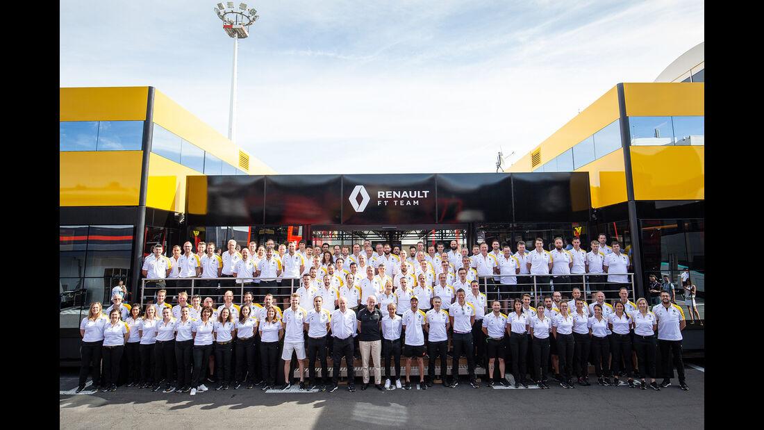 Renault - Teamfoto - GP Frankreich 2019