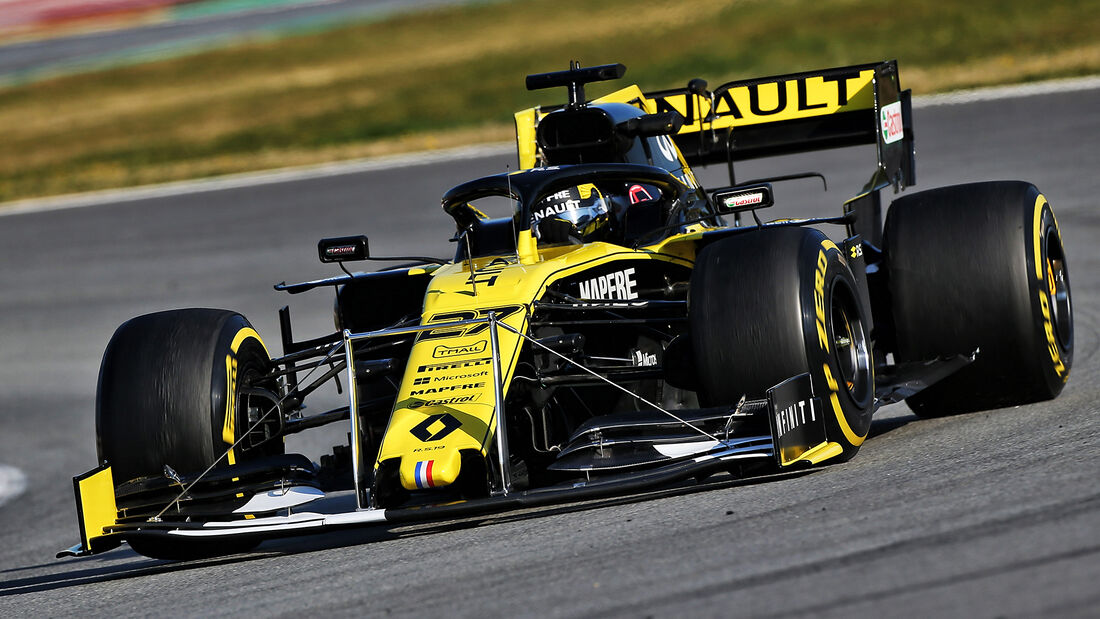 Renault - Technik - Barcelona - F1-Test 2019