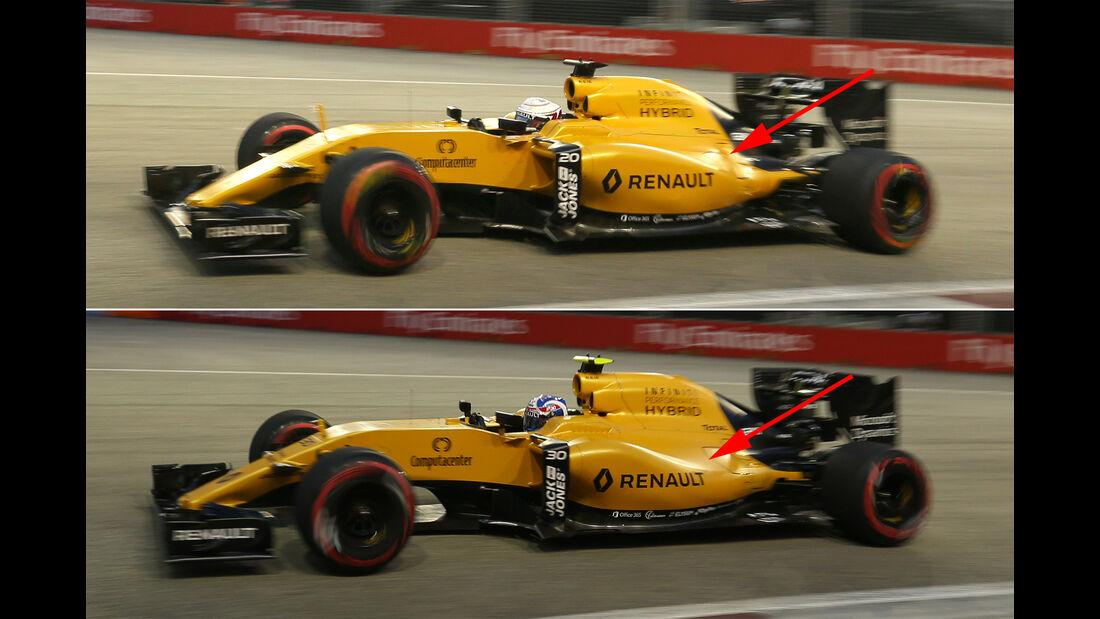 Renault - Technik - Formel 1 - GP Singapur 2016
