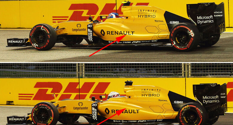 Technik-Upgrades GP Singapur