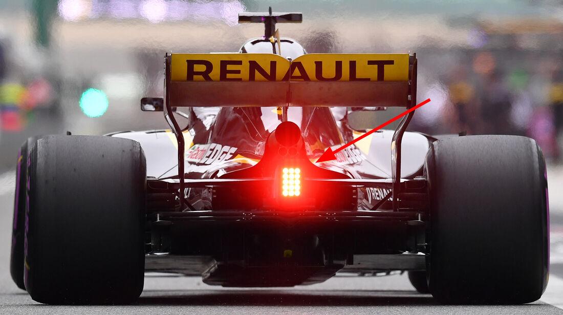 Renault - Technik - GP China / GP Bahrain - F1 2018