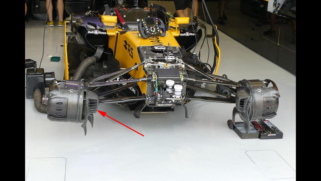 Renault - Technik - GP Singapur 2017