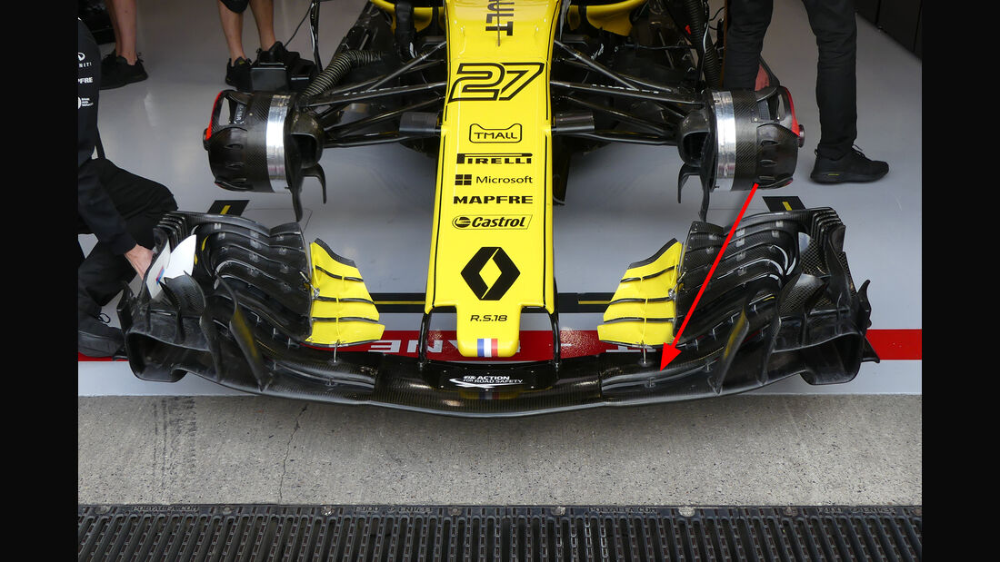 Renault - Technik - GP Singapur, Russland & Japan 2018