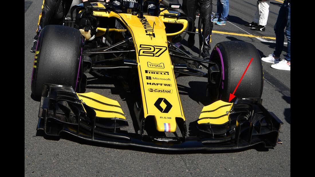Renault - Technik-Upgrades - GP Australien 2018