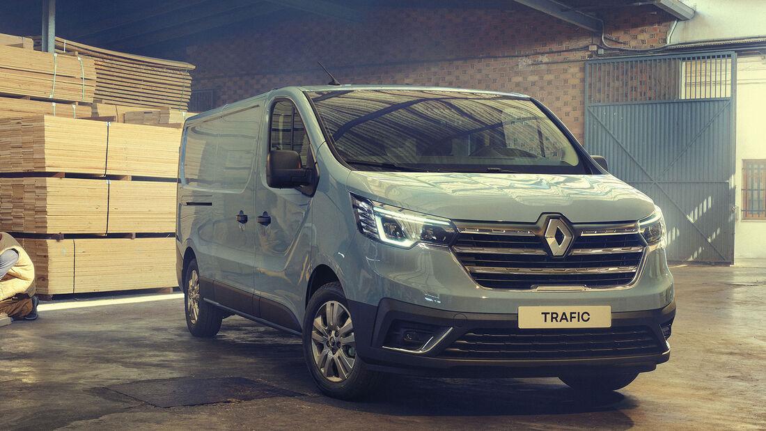 Renault Trafic 2021 Facelift