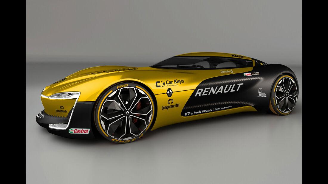 Renault Trezor Concept - Renault R.S.17 - Lackierung