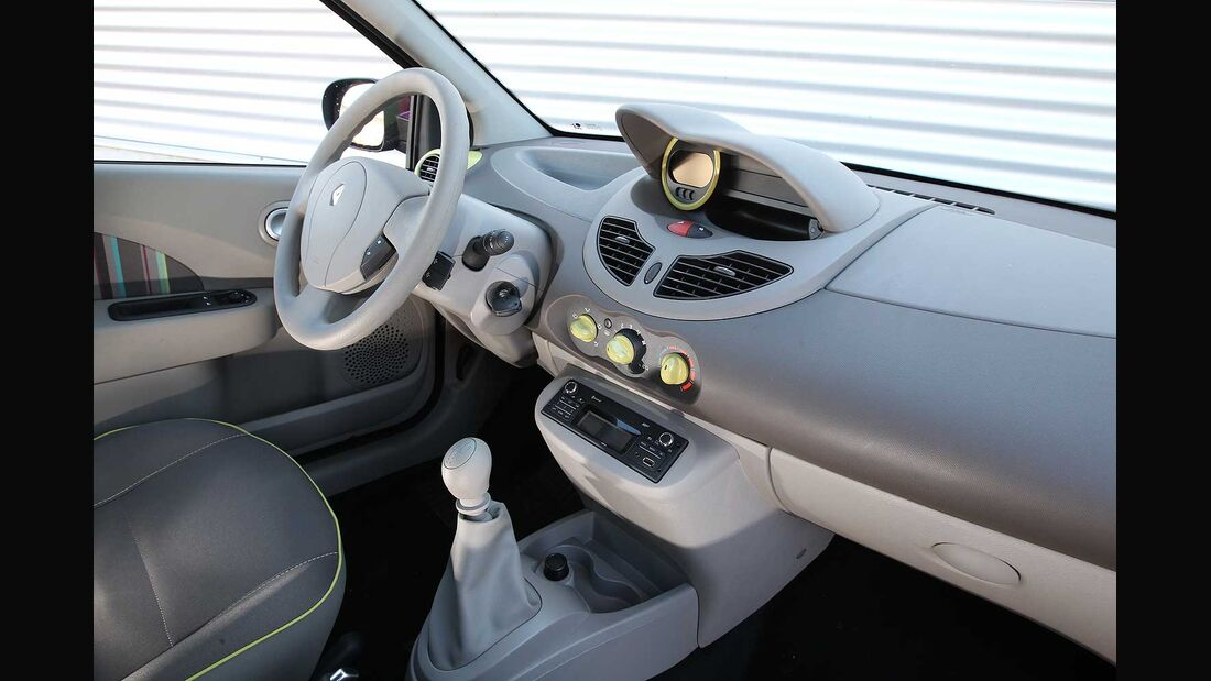 Renault Twingo 1.2, Cockpit