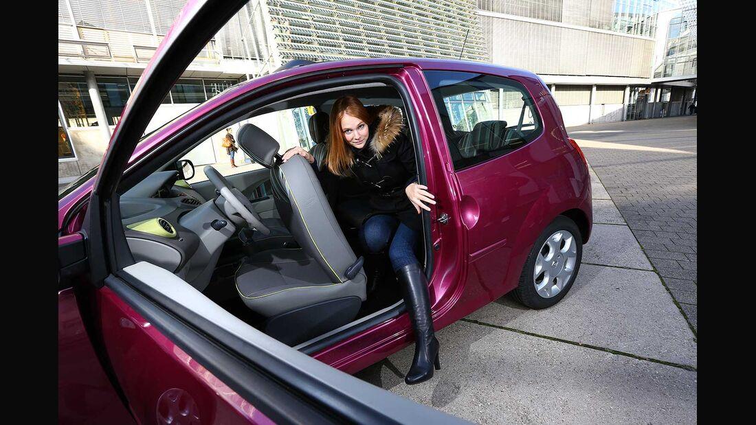 Renault Twingo 1.2, Fahrertür, Einstieg