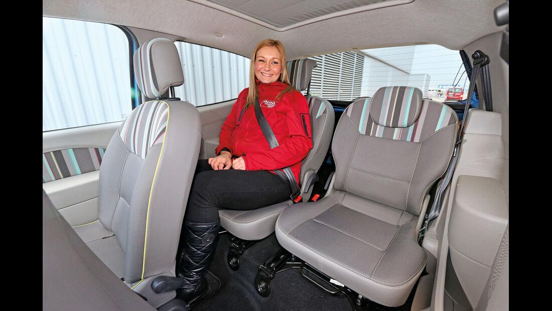 Renault Twingo 1.2, Fondsitz, Beinfreiheit