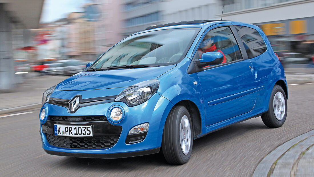 Renault Twingo 1.2, Frontansicht