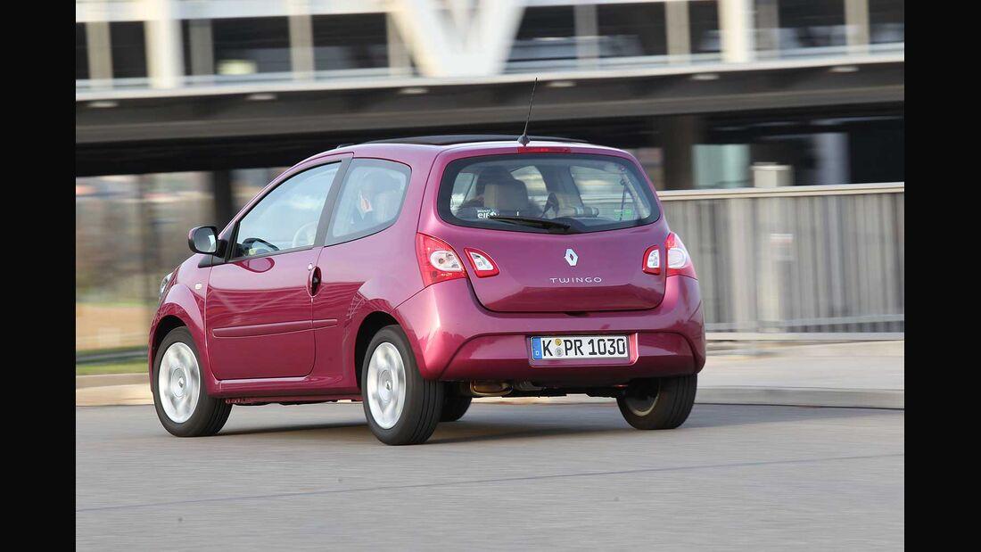 Renault Twingo 1.2, Heckansicht