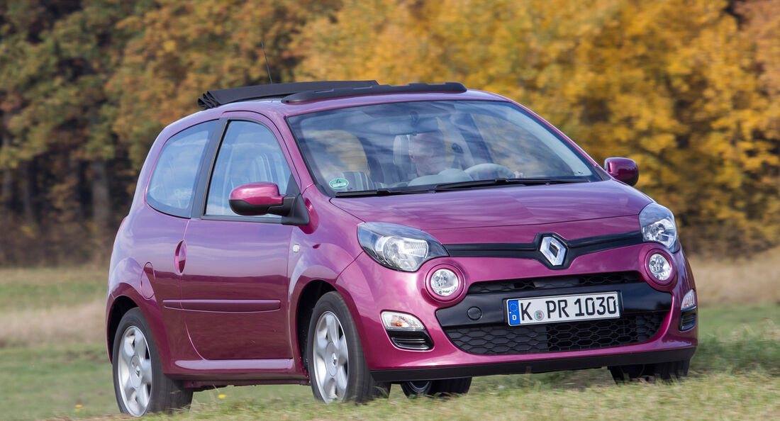 Renault Twingo 1.2 LEV 16V 75 Liberty, Frontansicht