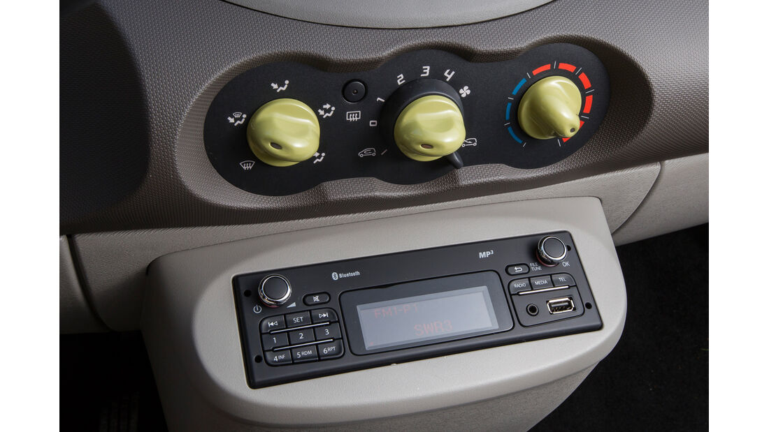 Renault Twingo 1.2 LEV 16V 75 Liberty, Radio