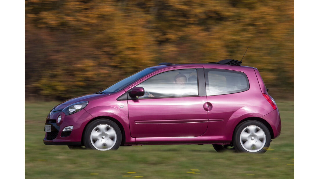 Renault Twingo 1.2 LEV 16V 75 Liberty, Seitenansicht