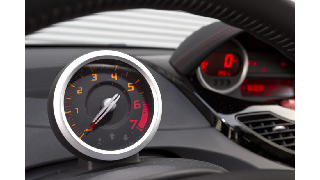 Renault Twingo 1.2 LEV 16V 75, Rundinstrumente