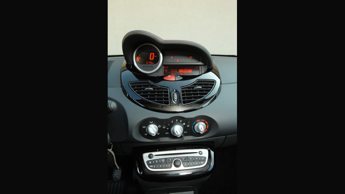 Renault Twingo 1.2, Mittelkonsole