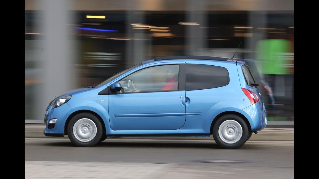 Renault Twingo 1.2, Seitenansicht