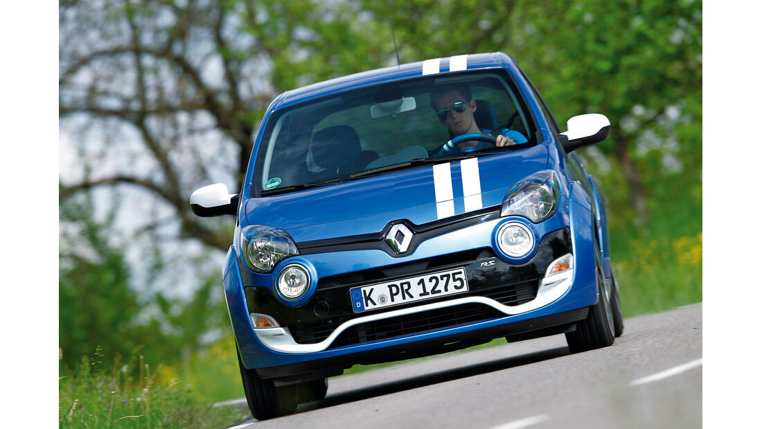 Renault Twingo 1.6 16V 130 Gordini R.S., Frontansicht