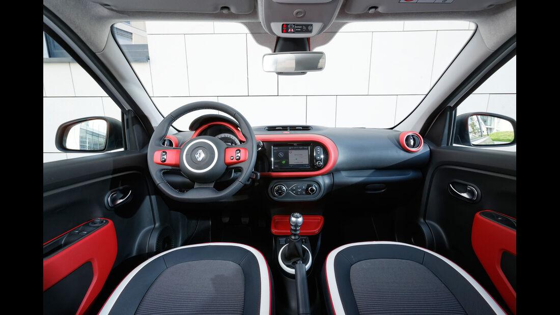 Renault Twingo, Cockpit