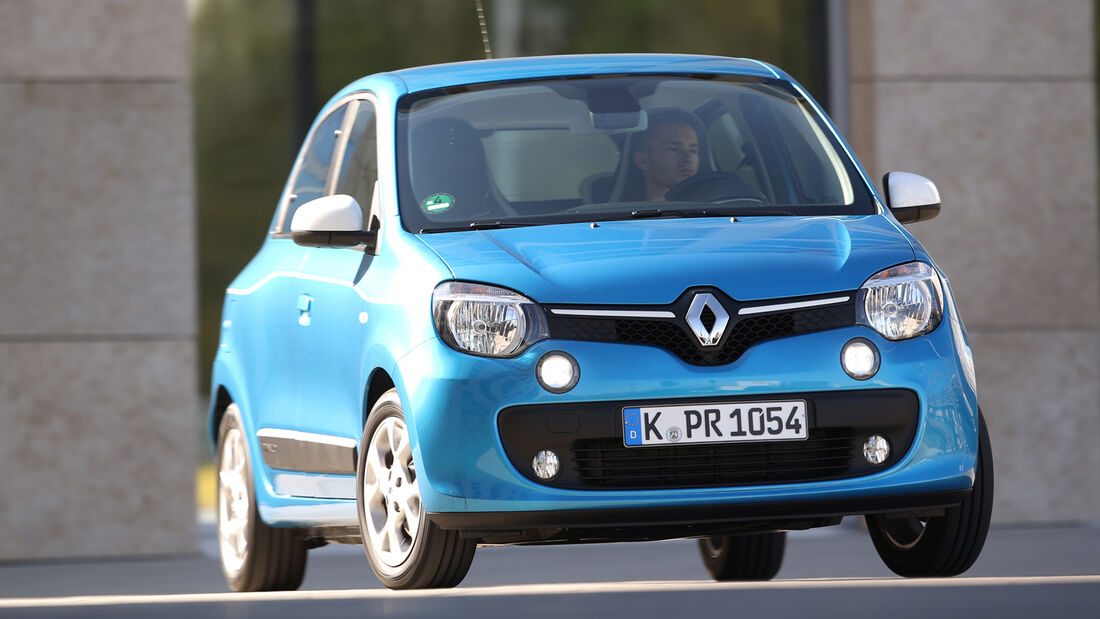 Renault Twingo Energy SCe, Frontansicht