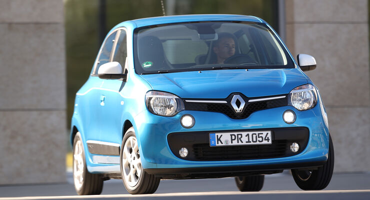Renault Twingo Energy SCe, Frontansicht