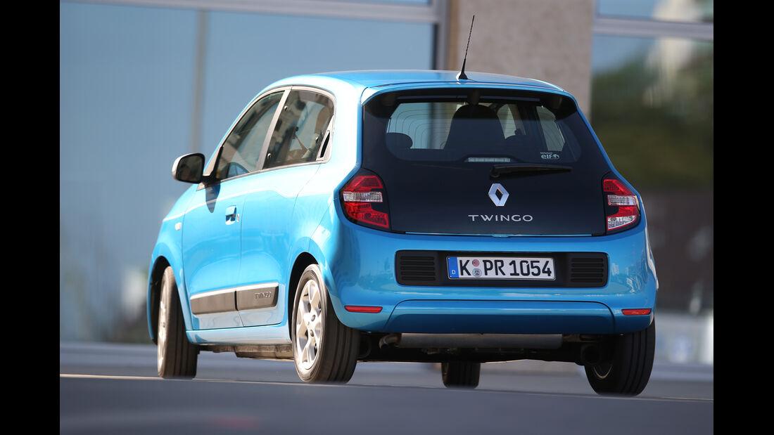 Renault Twingo Energy SCe, Heckansicht