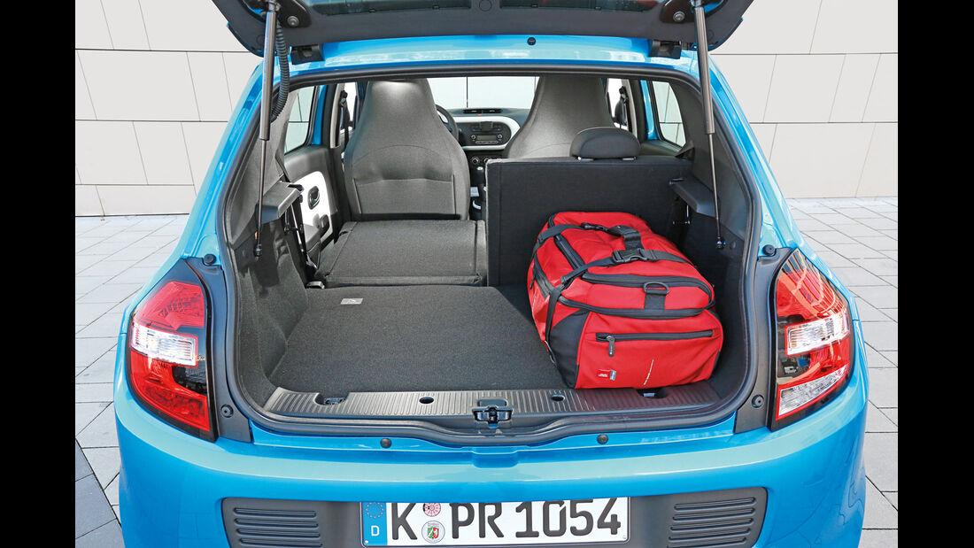 Renault Twingo Energy SCe, Kofferraum