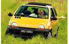 Renault Twingo, Frontansicht, Wiese