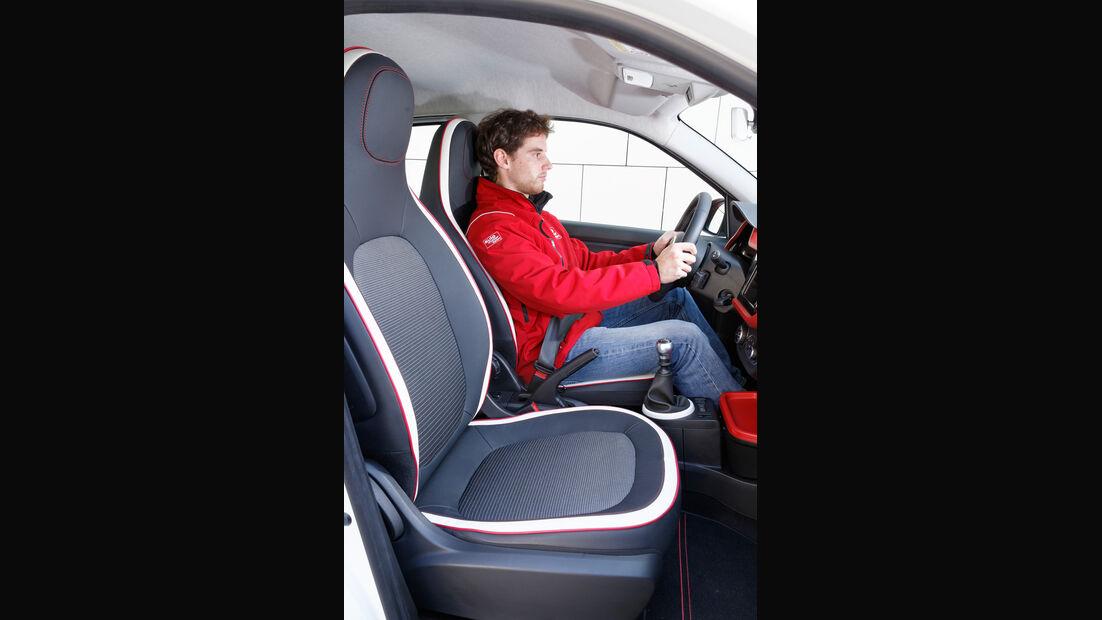 Renault Twingo, Frontsitze