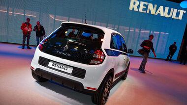 Renault Twingo, Genfer Autosalon, Messe, 2014, Genfer Autosalon, Messe, 2014
