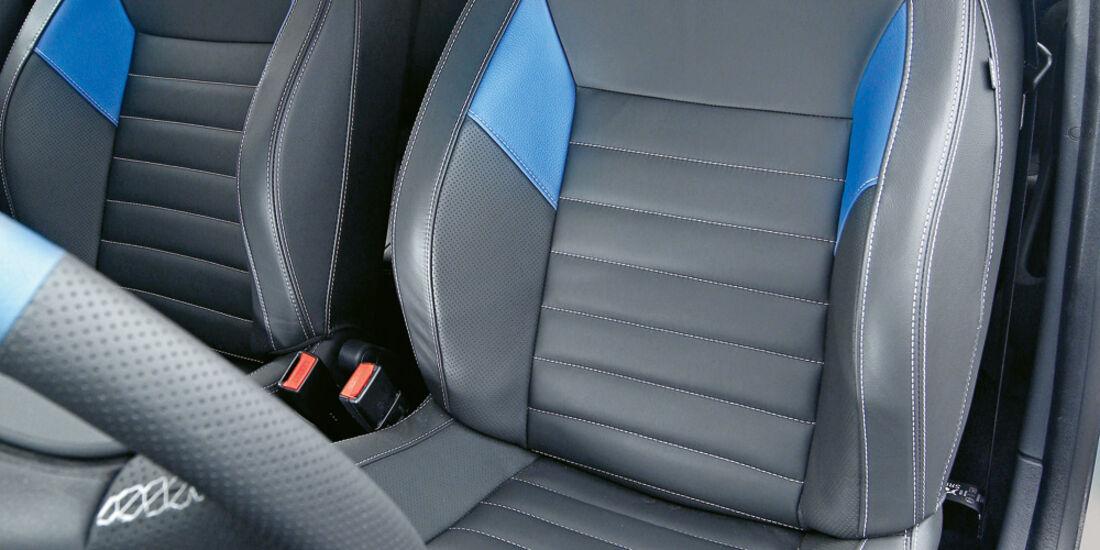 Renault Twingo Gordini R.S., Fahrersitz