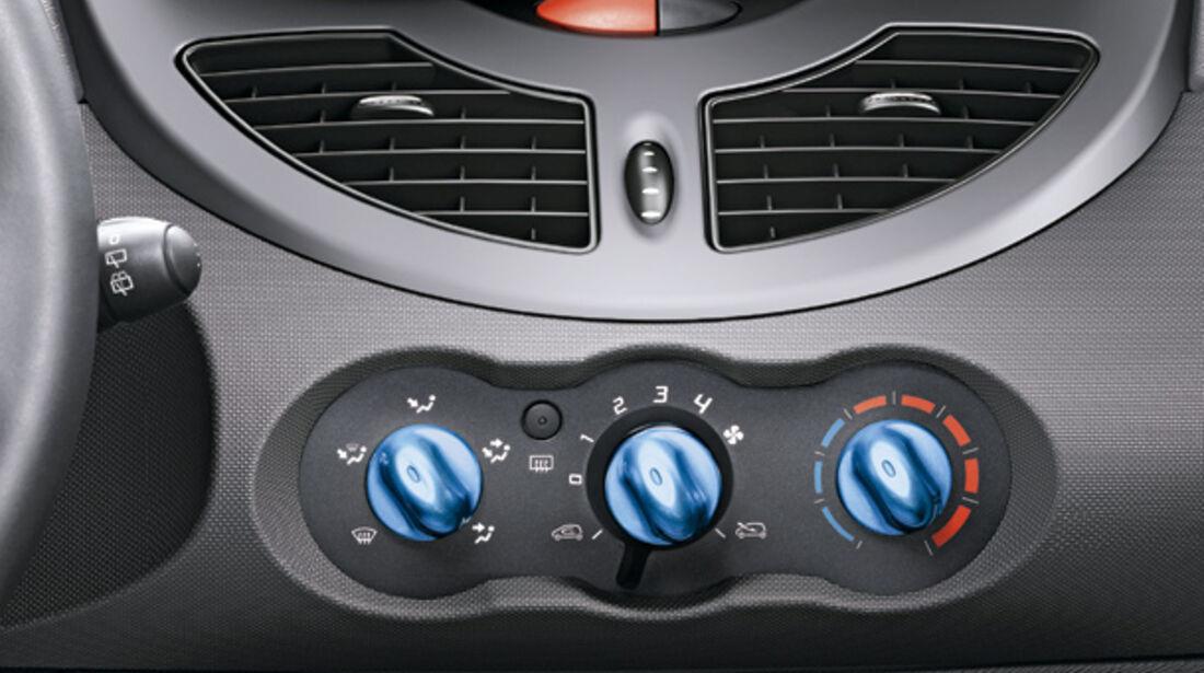 Renault Twingo, Instrumente