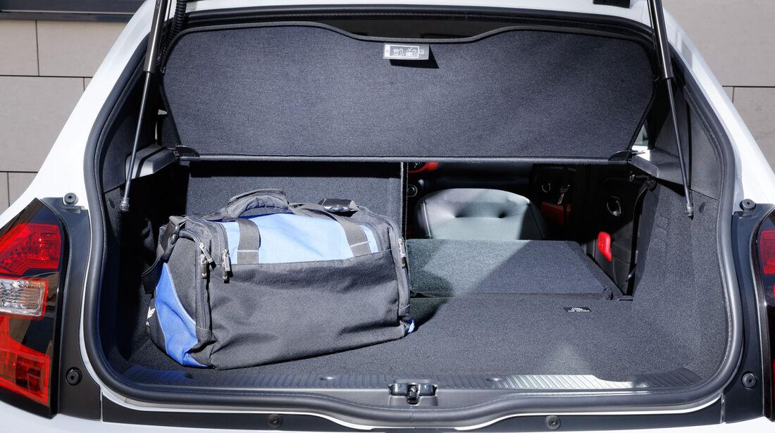 Renault Twingo, Kofferraum