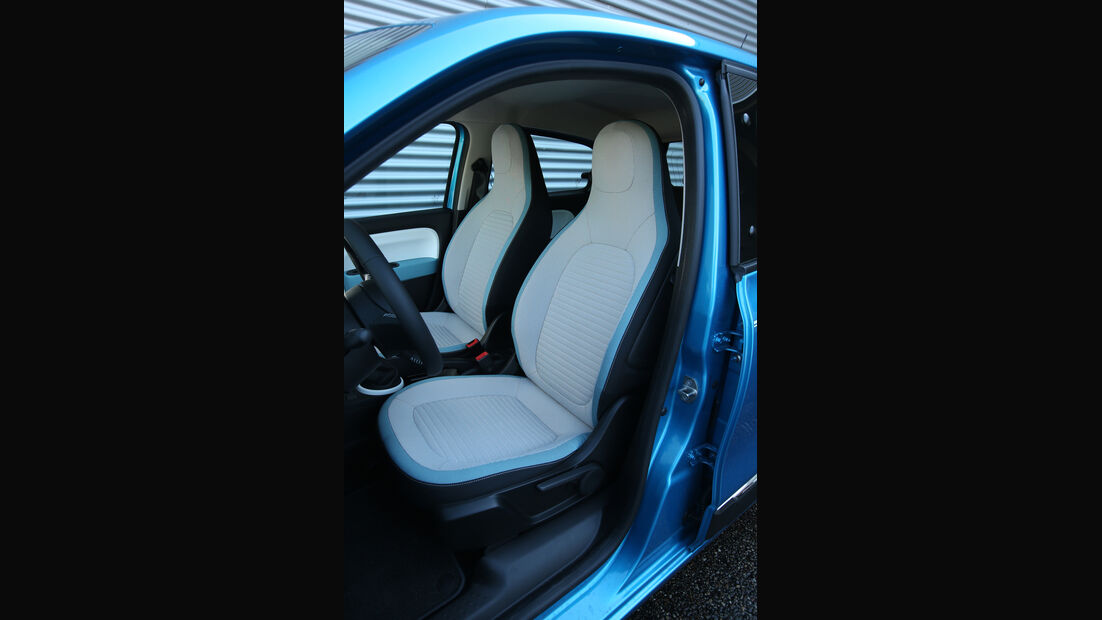 Renault Twingo SCe70, Fahrersitz