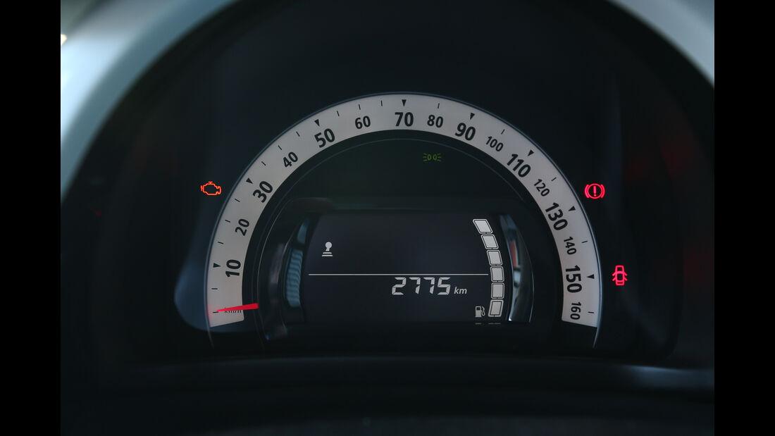 Renault Twingo SCe70, Rundinstrumente